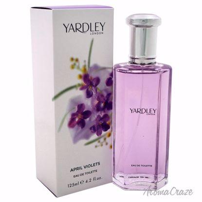 Yardley London April Violets EDT Spray for Women 4.2 oz