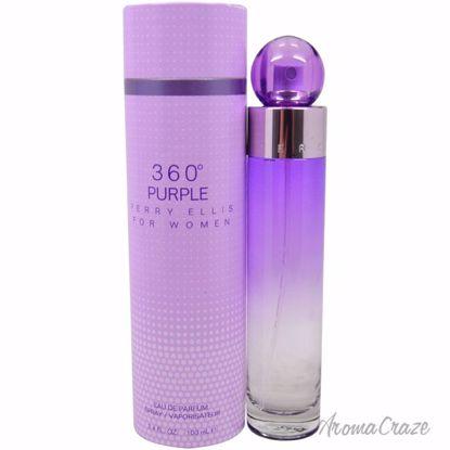 Perry Ellis 360 Purple EDP Spray for Women 3.4 oz