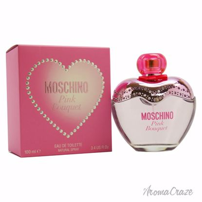 Moschino Pink Bouquet EDT Spray for Women 3.4 oz