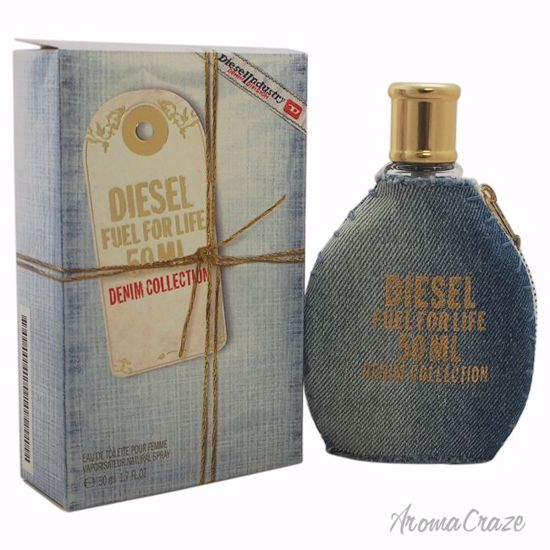 Diesel Fuel For Life Denim Collection EDT Spray for Women 1.