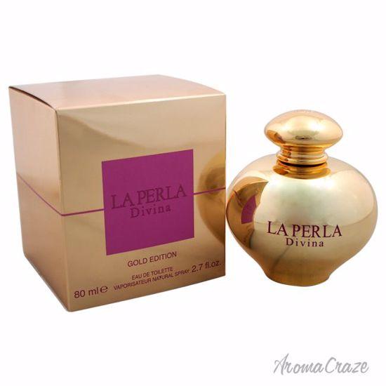 La Perla Divina Gold Edition EDT Spray for Women 2.7 oz