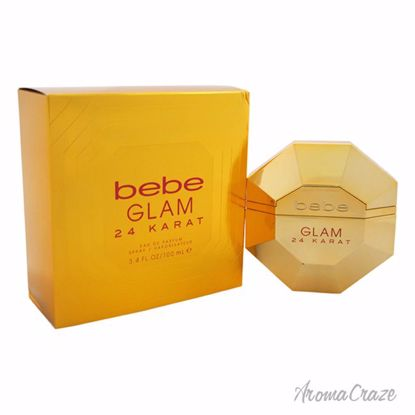 Bebe Glam 24 Karat EDP Spray for Women 3.4 oz