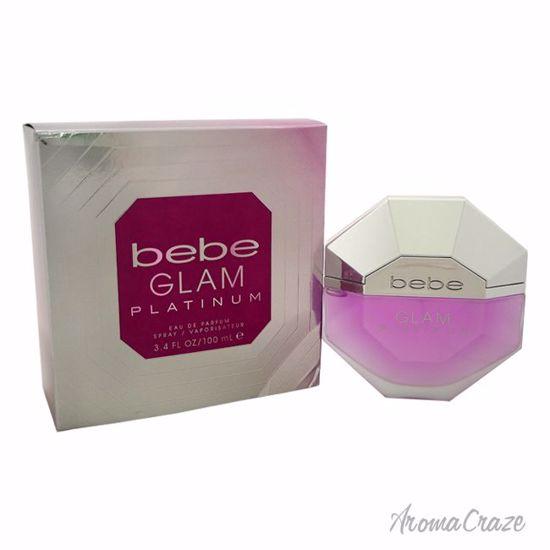 Bebe Glam Platinum EDP Spray for Women 3.4 oz