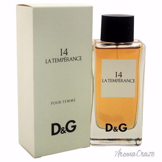 Dolce & Gabbana D&G 14 La Temperance EDT Spray for Women 3.3