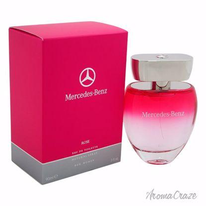 Mercedes-Benz Rose EDT Spray for Women 3 oz
