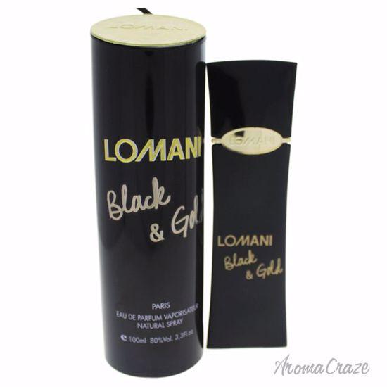 Lomani Black & Gold EDP Spray for Women 3.3 oz
