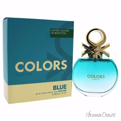 United Colors of Benetton Colors Blue EDT Spray for Women 2.