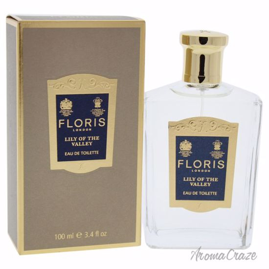 Floris London Lily Of The Valley EDT Spray for Women 3.4 oz