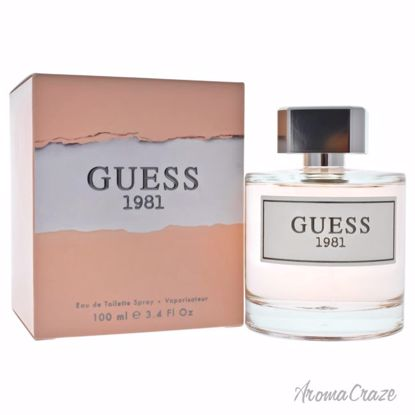Guess 1981 EDT Spray for Women 3.4 oz