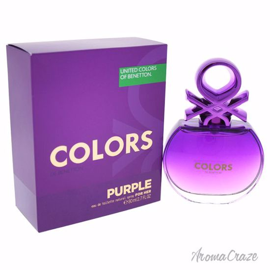 United Colors of Benetton Colors Purple EDT Spray for Women