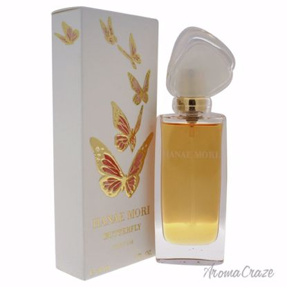 Hanae Mori Butterfly Parfum Spray for Women 1 oz