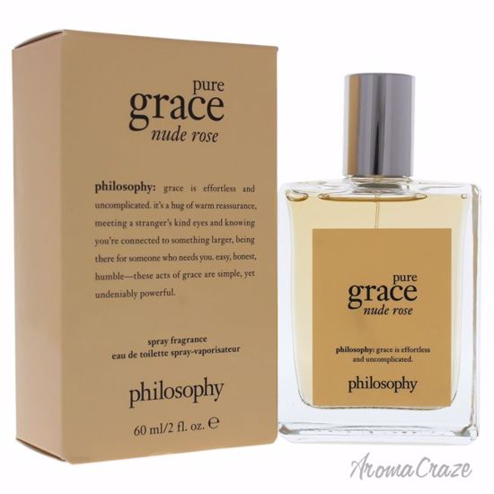 Philosophy Pure Grace Nude Rose EDT Spray for Women 2 oz