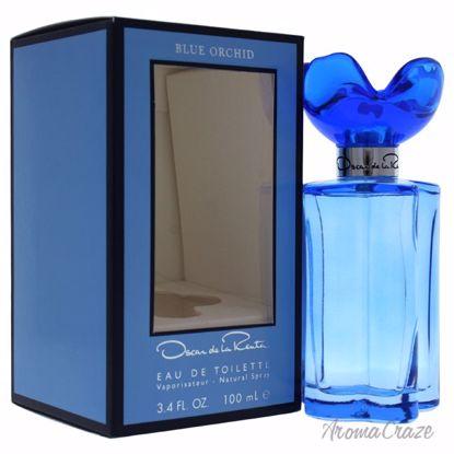 Oscar De La Renta Blue Orchid EDT Spray for Women 3.4 oz