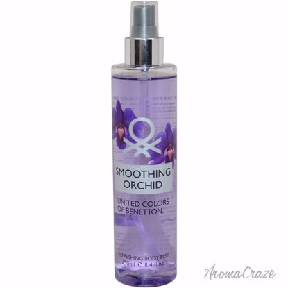 United Colors of Benetton Smoothing Orchid Body Mist for Wom