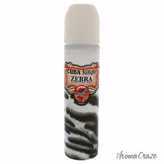 Cuba Jungle by Cuba Zebra EDP Spray (Tester) for Women 3.3 o