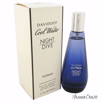 Zino Davidoff Cool Water Night Dive EDT Spray (Tester) for W