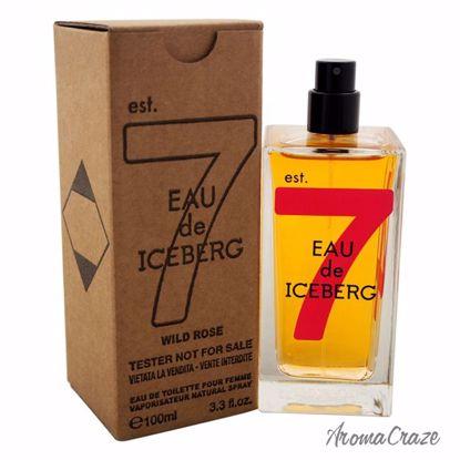 Eau de Iceberg Wild Rose EDT Spray (Tester) for Women 3.3 oz