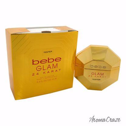 Bebe Glam 24 Karat EDP Spray (Tester) for Women 3.4 oz