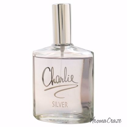 Revlon Charlie Silver EDP Spray (Tester) for Women 3.4 oz