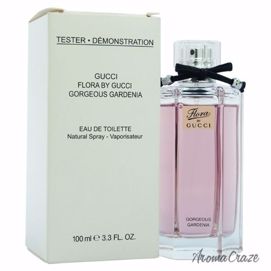 d6469f631 Gucci Flora By Gucci Gorgeous Gardenia EDT Spray (Tester) for Women 3.3 oz