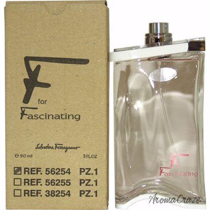 Salvatore Ferragamo F EDP Spray (Tester) for Women 3 oz