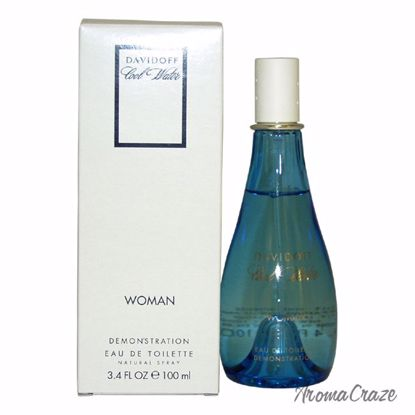 Zino Davidoff Cool Water EDT Spray (Tester) for Women 3.4 oz