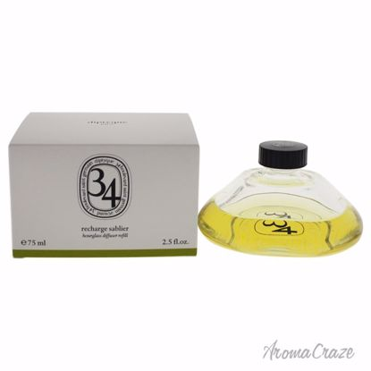 Diptyque 34 Boulevard Saint Germain Hourglass Diffuser Diffuser (Refill) Unisex 2.5 oz - AromaTherapy Products | Aromatherapy Oils | Aromatherapy Diffuser | Plant Therapy Essential Oils | Aromatherapy essential oils | Aromatherapy Massage Oils | AromaCraze.com