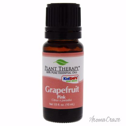 Plant Therapy Essential Oil Grapefruit Pink Unisex 0.33 oz - AromaTherapy Products | Aromatherapy Oils | Aromatherapy Diffuser | Plant Therapy Essential Oils | Aromatherapy essential oils | Aromatherapy Massage Oils | AromaCraze.com