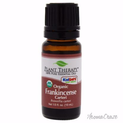Plant Therapy Organic Essential Frankincense Carteri Unisex 0.33 oz - AromaTherapy Products | Aromatherapy Oils | Aromatherapy Diffuser | Plant Therapy Essential Oils | Aromatherapy essential oils | Aromatherapy Massage Oils | AromaCraze.com