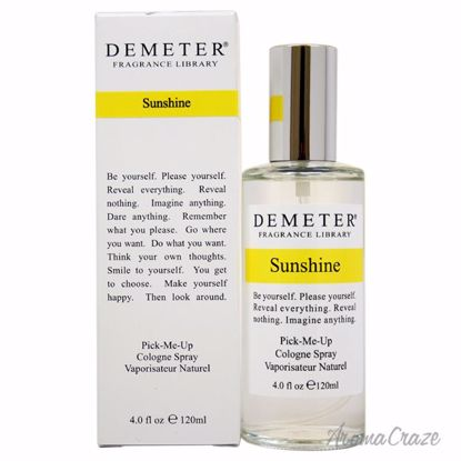 Demeter Sunshine Cologne Spray Unisex 4 oz