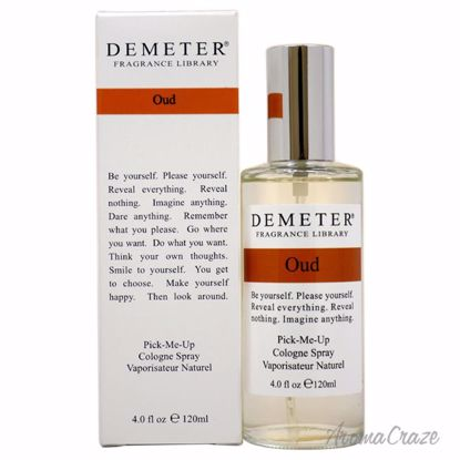 Demeter Oud Cologne Spray Unisex 4 oz