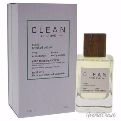 Clean Reserve Smoked Vetiver EDP Spray Unisex 3.4 oz