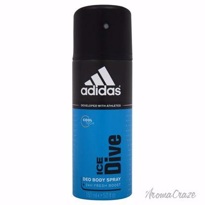 Adidas Ice Dive Deodorant Spray for Men 5 oz - Deodorants | Antisperspirants | Deodorants Sticks | Deodorants Roll On | Best Deodorants For Men | Deodorants Spray | Top Brands Deodorants | Deodorants and Antiperspirants | Best deodorant for sensitive skin | AromaCraze.com
