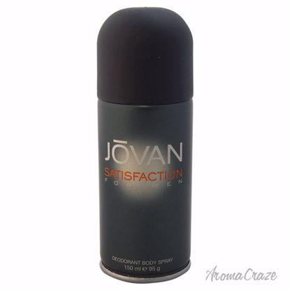 Jovan Satisfaction Deodorant Body Spray for Men 5 oz