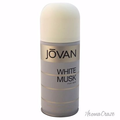 Jovan White Musk Deodorant Body Spray for Men 5 oz