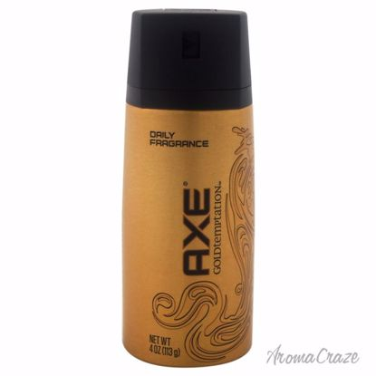 AXE Gold Temptation Body Spray Deodorant Spray for Men 4 oz - Deodorants | Antisperspirants | Deodorants Sticks | Deodorants Roll On | Best Deodorants For Men | Deodorants Spray | Top Brands Deodorants | Deodorants and Antiperspirants | Best deodorant for sensitive skin | AromaCraze.com
