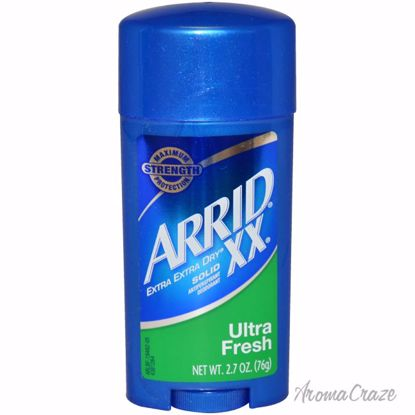 Arrid XX Extra Extra Dry Ultra Fresh Solid Antiperspirant& Deodorant Stick Unisex 2.7 oz - Deodorants | Antisperspirants | Deodorants Sticks | Deodorants Roll On | Best Deodorants For Women and Men | Deodorants and Antiperspirants | Unisex Deodorants | AromaCraze.com