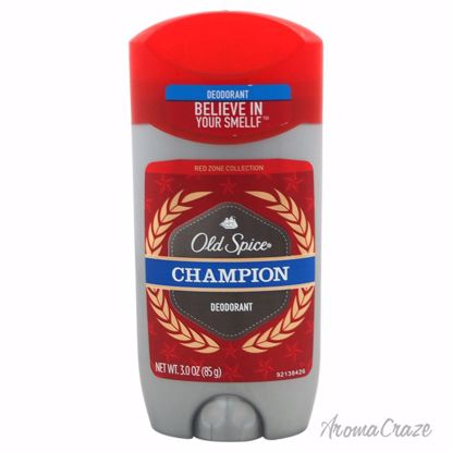 Old Spice Champion Red Zone Deodorant Stick Unisex 3 oz - Deodorants | Antisperspirants | Deodorants Sticks | Deodorants Roll On | Best Deodorants For Women and Men | Deodorants and Antiperspirants | Unisex Deodorants | AromaCraze.com