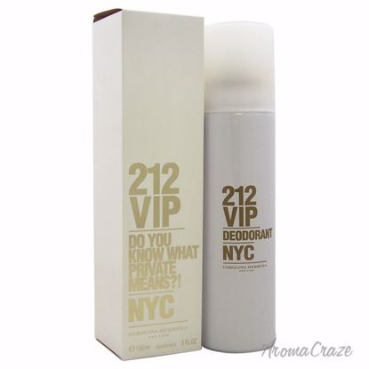 Carolina Herrera 212 VIP Deodorant Spray for Women 5 oz