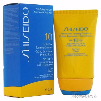 Shiseido Protective Tanning Cream N SPF 10 (For Face) Sun Care Unisex 1.7 oz - Sun Protection Products | Sun Care Products | Best Sunscreen | Sun Cream Lotion | UV Protection | Body Care | All Natural Skin care | AromaCraze.com