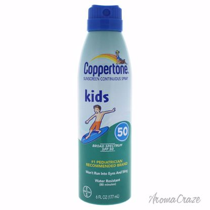 Coppertone Kids Sunscreen Continuous Spray SPF 50 for Kids 6