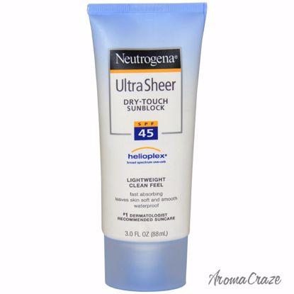 Neutrogena Ultra Sheer Dry Touch Sunblock SPF 45 Sunblock fo