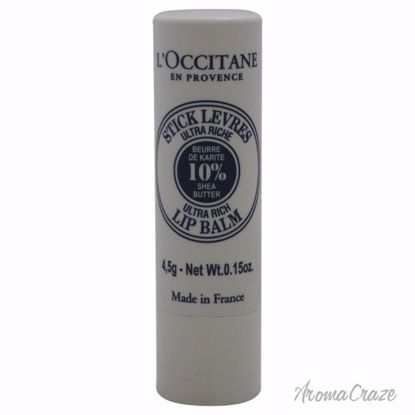 L'Occitane Shea Butter Lip Balm Stick Unisex 0.15 oz