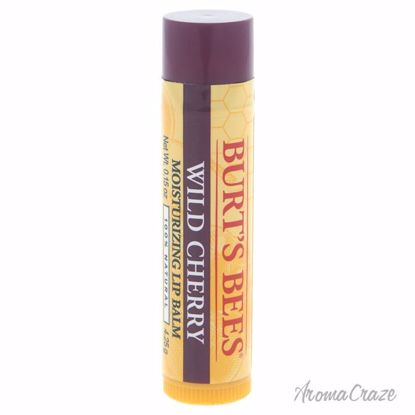 Burt's Bees Wild Cherry Moisturizing Lip Balm Blister Unisex 0.15 oz - Lip Care Products | Lip Balm | Lip Shimmer | Lip Moisturizers | Best Selling Lip Care Products | All Natural Skin care | AromaCraze.com