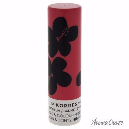 Korres Lip Balm Care & Colour Stick Hibiscus for Women 0.17