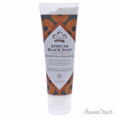 Nubian Heritage African Black Soap Hand Cream Detoxifying &