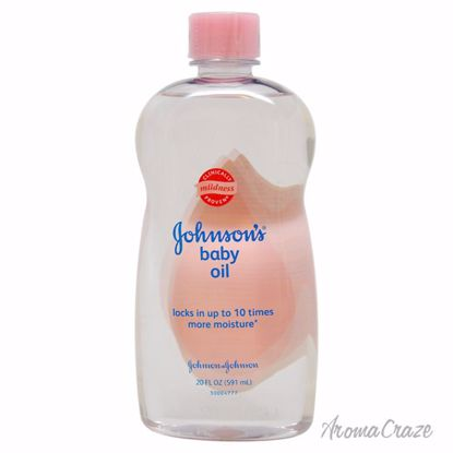 Johnson & Johnson Baby Oil for Kids 20 oz - Top Skin Care Products | Best Anti Aging Skin Care Products| Body Care | All Natural Skin care | AromaCraze.com