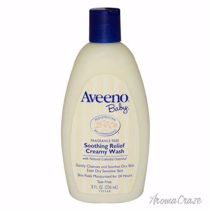 Aveeno Baby Soothing Relief Creamy Body Wash for Kids 8 oz