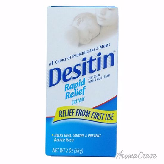 Johnson & Johnson Desitin Rapid Relief Diaper Rash Cream for