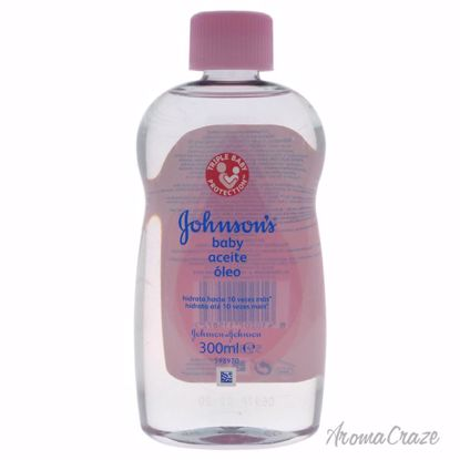 Johnson & Johnson Johnsons Baby Oil for Kids 10.1 oz - Top Skin Care Products | Best Anti Aging Skin Care Products| Body Care | All Natural Skin care | AromaCraze.com